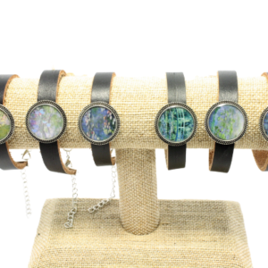 Leather Monet Bracelets