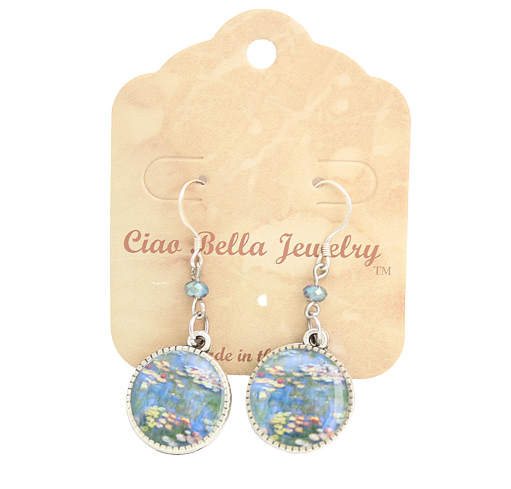 Monet Art Earrings