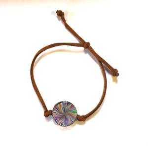 Suede Adjustable Custom Bracelet