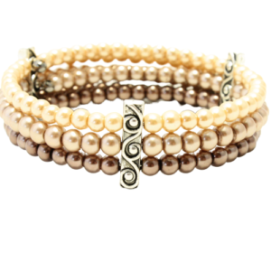 Pearl brown bracelet