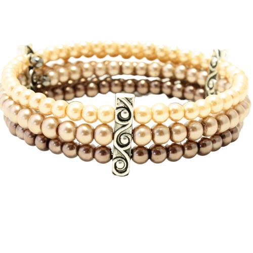 Pearl brown bracelet