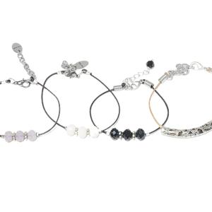 dainty stack bracelets