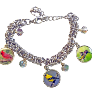 Bird Custom Charm Bracelet