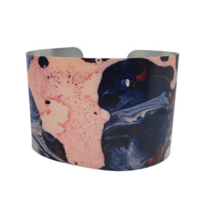 Modern Art Splatter Cuff