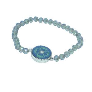 Crystal fundraising bracelet