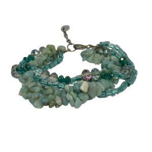 Aqua Amazonite Bracelet